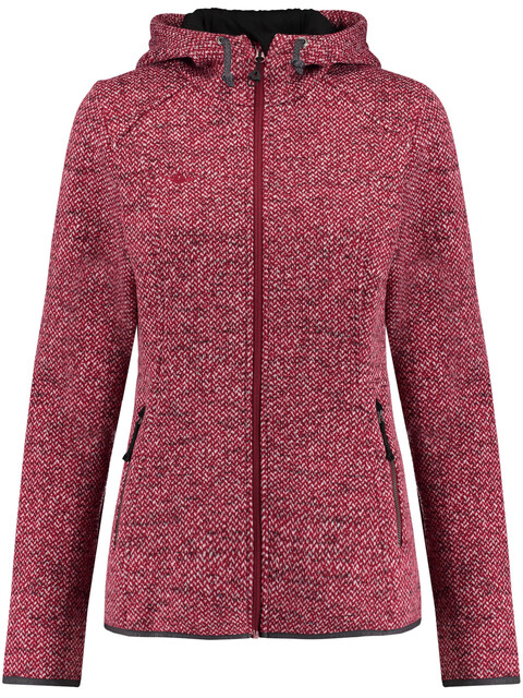 Kaikkialla W's Salla Fleece Jacket Berry
